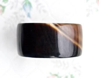Brown Cuff Bracelet - Boho Jewelry