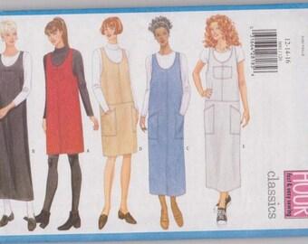 Butterick 5691 Misses Jumper - Size 12 14 16 - Dated 1998 - UNCUT