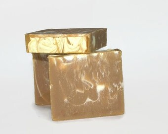 The Honey Patch Soap with Shea Butter, Cold Processed Soap,