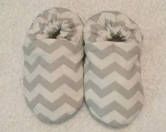 Chevron Baby Shoes
