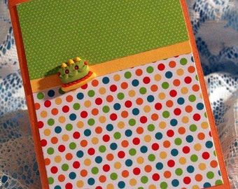 Polka Dot Birthday Card  20160003