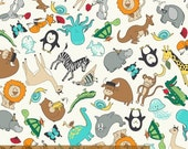 Animal ABCs - Tossed Animal by Whistler Studios from Windham Fabrics
