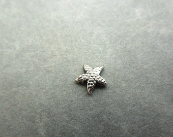 starfish, locket charm, living locket, floating locket,