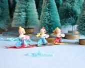 Teeny Tiny Ski Angels - Italy - Set of 3