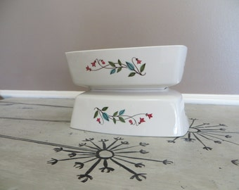 Franciscan China Serving Dish Winsome Whimsical Bowl Floral Bowl Serving Bowl Floral Dish Side Dish Thanksgiving