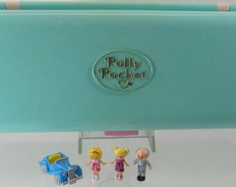 1989 Vintage Polly Pocket Trinket Box Play-set Complete Bluebird Toys (38037)