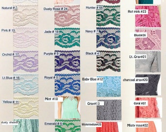 Colors for Lace