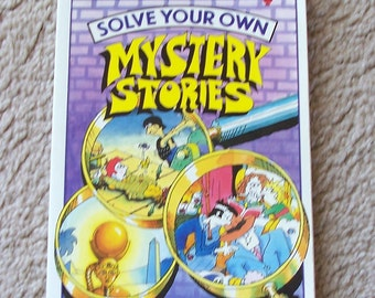 Solve Your Own Mystery Stories - Usborne Book