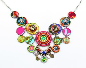 Luxury Ethnic Hippie Gypset One of a Kind Necklace