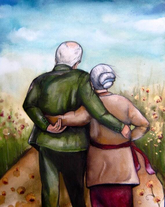 Elder couple idea wedding  anniversary ,50th anniversary