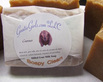 Milled Soapy Clean Goat Milk Soap Luxurious Treat