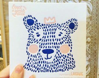 New Bear & Rabbit baby journal