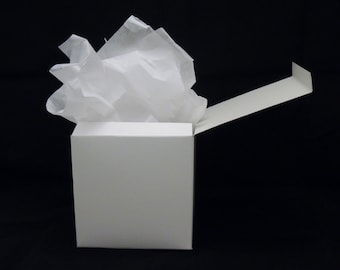 One 6 x 6 x 6 Gift Box and Tissue