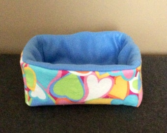 Hearts Small Animal Bed