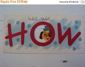 HOT MESS SALE Vtg. 30s Unused Greeting Card How Do You Do
