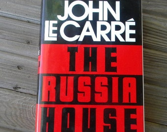 John Le Carre The Russian House stated first edition 1989