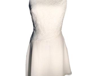 Women's Asymmetrical Lace Dress