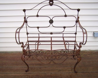 iron headboard  etsy, Headboard designs