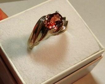 Oregon Sunstone  Ring,  OVAL RED #53