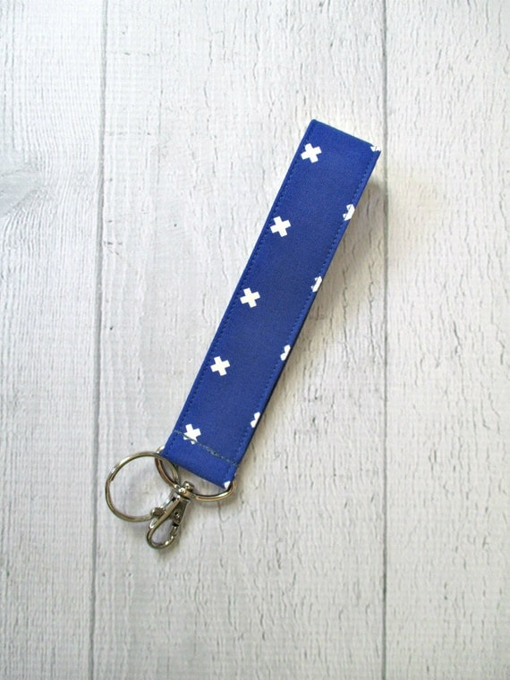 Cobalt Key Lanyard | Royal Blue Wrist Strap