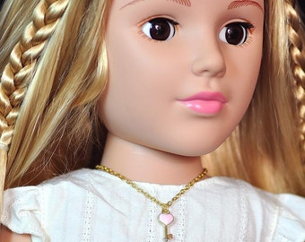 American Girl doll necklace, Madame Alexander doll and Similar 18 Inch Doll necklace
