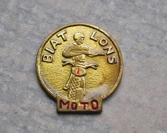 Vintage brass badge,token.