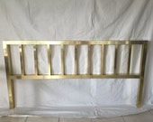 HOLD CH Anodized Brass King Headboard