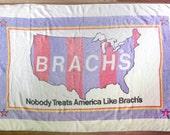 Vintage Brach's Candy Promotional Beach Towel