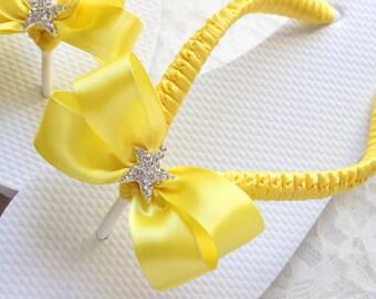 Yellow FLIP FLOPS, bride shoes, bridesmaid flip flops, yellow wedding sandals, yellow wedding shoes, wedding party, bridal party, beach
