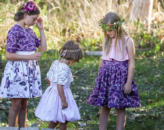 On Sale: Genevieve Dress PDF Pattern and Tutorial. Bubble Dress. 2 years- 10 years, NEW, All Sizes Included