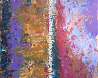 "Original Art By Jacqui Hawk ""Windswept"""