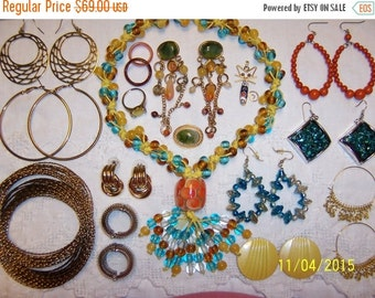 20 OFF EVERYTHING Vintage Jewelry (Lot 117). Big and medium.