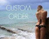 Custom Order for Courtney