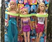 Super Cute Barbie & Ken Barbie Tote w/2 Sleeping Bags