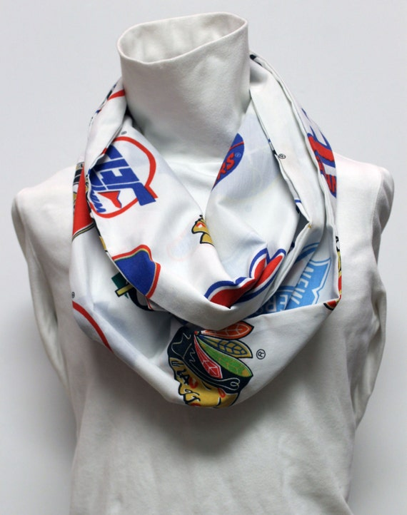 Women's Hockey Infinity Scarf