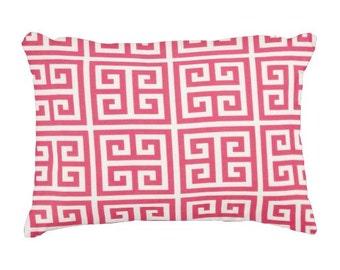 Pink Lumbars, Hot Pink Outdoor Pillows, Outdoor Throw Pillows, Pink Patio Pillows, Pool Pillows, Pillow Covers, Pink Deck Porch Pillows