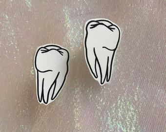 Fallen Teeth Earrings
