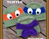 Teenage Mutant Ninja Turtle Beanie - Available in all characters