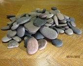 Lot of 100 Sorted and Sized Beach Stones Mosaic Craft Supplies Lake Michigan
