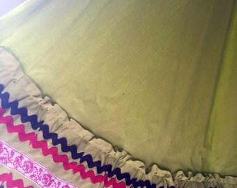 Fiesta Skirt Hand Made New Mexico So Hollywood 1950s senorita