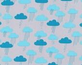 Cloud9 Organic Fabrics - Sweet Autumn Day - Cloudy Days | Blue 1/2 YD