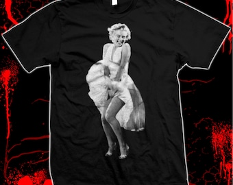 Marilyn Monroe - The Seven Year Itch - Hand screened, Pre-shrunk 100% cotton t-shirt