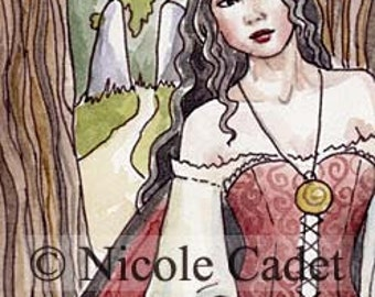 Fairy Path open edition ACEO/ ATC print