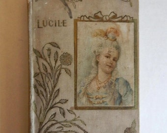 Sale Antique 1901 HB Book Lucile By Owen Meredith Poetry Literature Victorian Books Collectibles