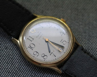 Vintage Timex with classic large numerals