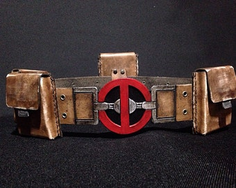 Deadpool Costume Belt and Pouches