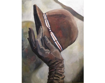glove and hat