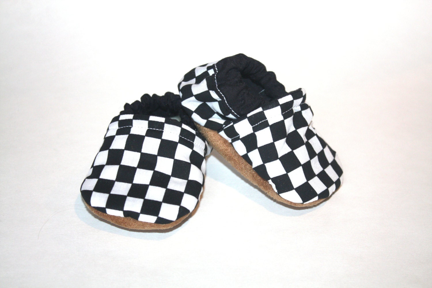 baby shoes black and white shoes checkered shoes black and