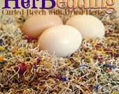 HERBedding Herbal Chicken Nesting Box Bedding - Choose from 1, 2 or 3 pound bags