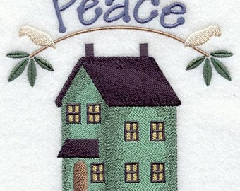 Loving Home - Home of Peace - Fabric - Towels